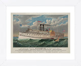 "Currier & Ives - The Grand New Steamboat ""Pilgrim"", c. 1883"