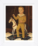 Boy with Horse (Framed) -  Diane Ulmer Pedersen - McGaw Graphics