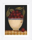 Cup O Cherries (Framed) -  Diane Ulmer Pedersen - McGaw Graphics