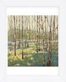 Trees in Blue Green (Framed) -  Libby Smart - McGaw Graphics