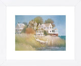 Cottages by the Sea  (Framed)