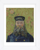 The Postman (Joseph-Etienne Roulin), 1889 (Framed) -  Vincent van Gogh - McGaw Graphics