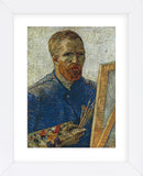 Self Portrait in Front of Easel (Framed) -  Vincent van Gogh - McGaw Graphics