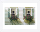 Window Boxes (Framed) -  Zhen-Huan Lu - McGaw Graphics