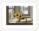 Sunflowers (Framed) -  Zhen-Huan Lu - McGaw Graphics
