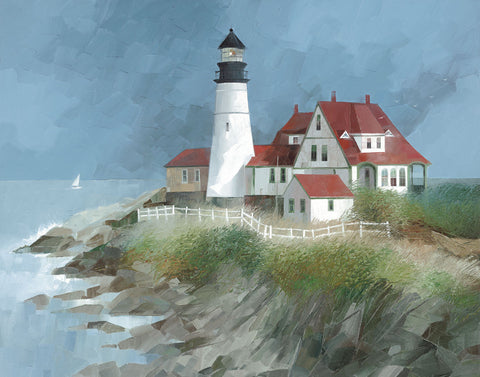 Albert Swayhoover - Portland Light, Maine