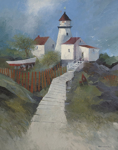 Albert Swayhoover - Path to the Lighthouse