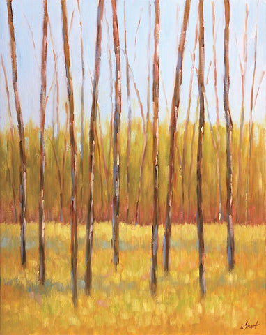 Libby Smart - Tall Trees II (right)