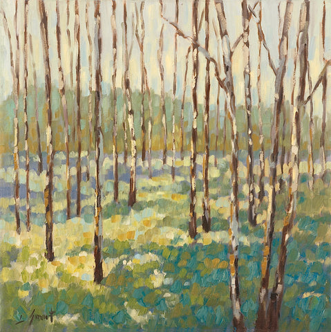 Libby Smart - Trees in Blue Green
