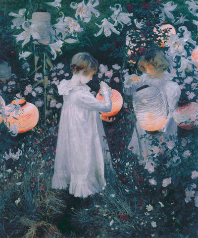 Carnation, Lily, Lily, Rose -  John Singer Sargent - McGaw Graphics