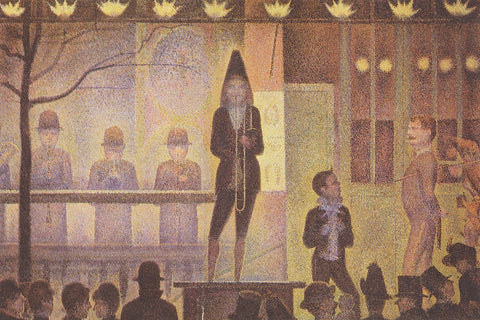 Georges Seurat - Circus Sideshow