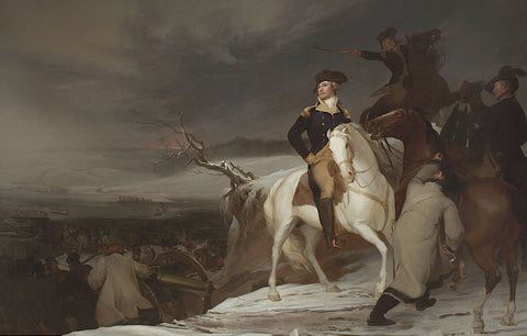 Thomas Sully - The Passage of the Delaware, 1819