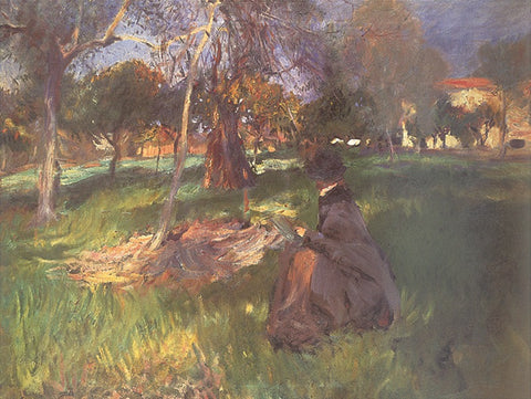 In an Orchard -  John Singer Sargent - McGaw Graphics