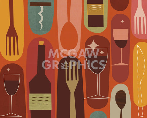 Wine & Dine -  Jenn Ski - McGaw Graphics