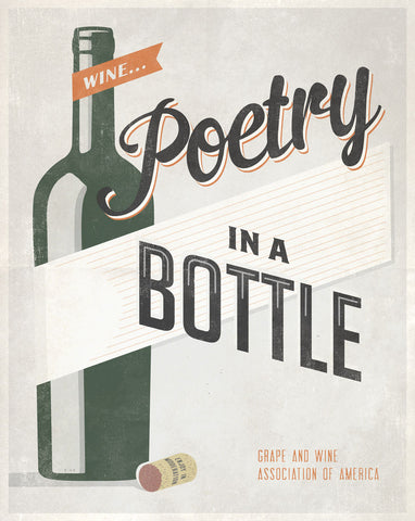 Poetry in a Bottle -  Luke Stockdale - McGaw Graphics