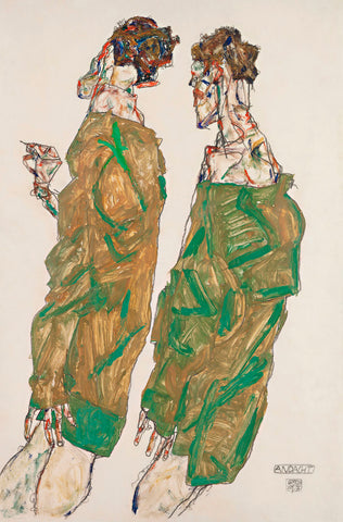 Devotion -  Egon Schiele - McGaw Graphics