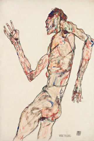 The Dancer -  Egon Schiele - McGaw Graphics