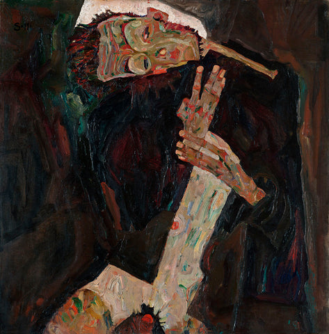 The Lyricist -  Egon Schiele - McGaw Graphics
