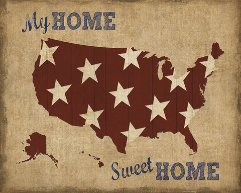 Sparx Studio - My Home Sweet Home USA Map
