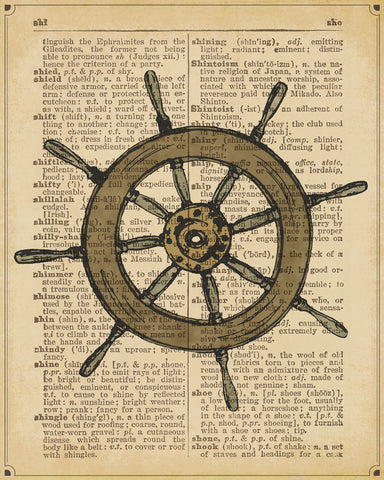 Nautical Series - Ship Wheel -  Sparx Studio - McGaw Graphics