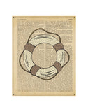 Nautical Series - Life Preserver