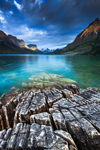 St. Mary Lake Glacier National Park -  Jason Savage - McGaw Graphics