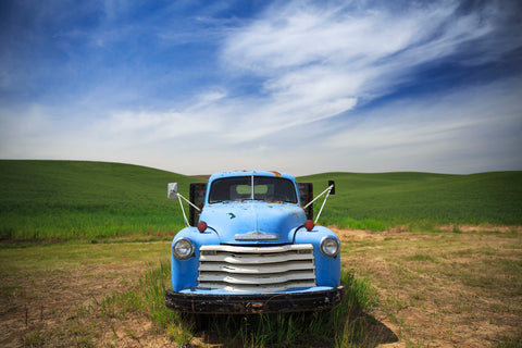 Old Truck Palouse -  Jason Savage - McGaw Graphics