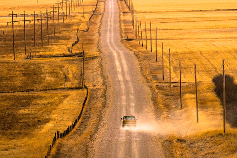 Montana Backroad -  Jason Savage - McGaw Graphics