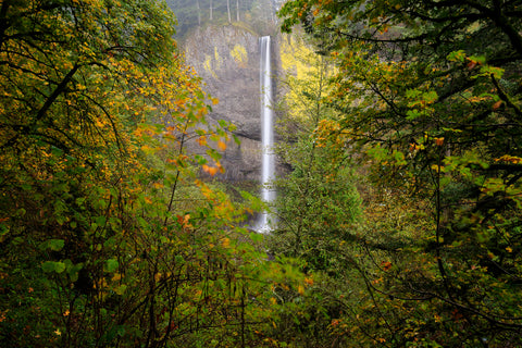Oregon Waterfall -  Jason Savage - McGaw Graphics
