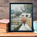 Snow at Louveciennes, 1874 -  Alfred Sisley - McGaw Graphics