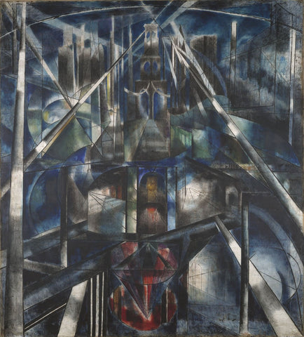 Brooklyn Bridge, 1919-20 -  Joseph Stella - McGaw Graphics