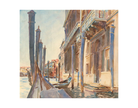 Gondola Moorings on the Grand Canal, 1904/07