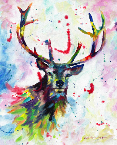 Color Stag -  Sarah Stribbling - McGaw Graphics