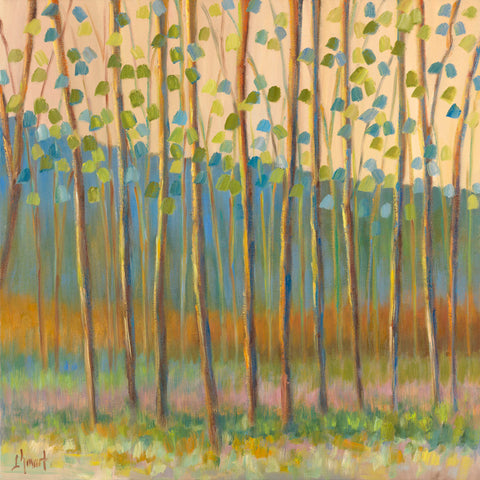 Through Pastel Trees -  Libby Smart - McGaw Graphics