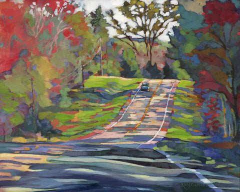 Country Highway -  Karen Mathison Schmidt - McGaw Graphics