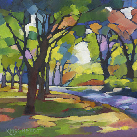 A Walk in the Park -  Karen Mathison Schmidt - McGaw Graphics