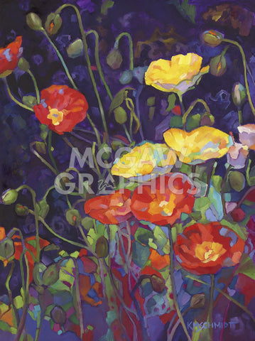 Wild Bunch II: Poppies -  Karen Mathison Schmidt - McGaw Graphics