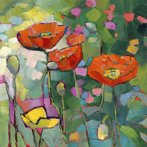 Karen Mathison Schmidt - Poppies Galore