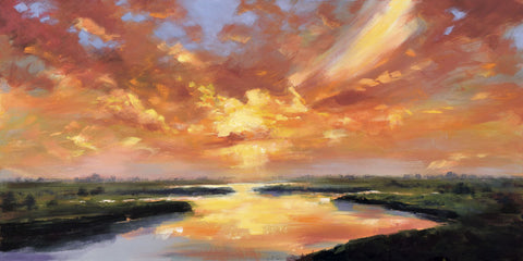 Robert Seguin - Sunset Reflection