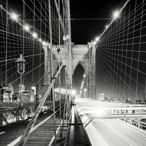 Brooklyn Bridge, Study 1, New York City, 2013 -  Marcin Stawiarz - McGaw Graphics