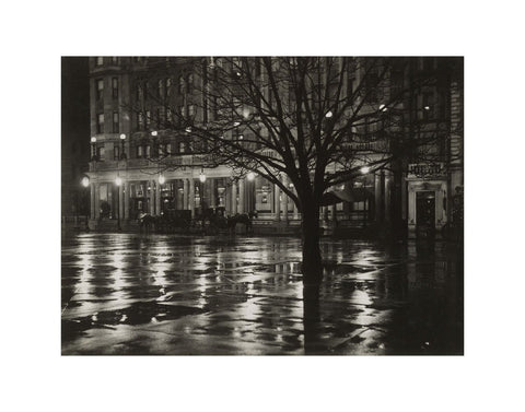 Reflections—Night (New York), 1897
