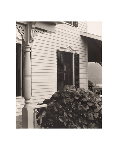 House and Grape Leaves, 1934