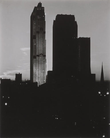 From the Shelton, Looking West, 1935–36 -  Alfred Stieglitz - McGaw Graphics