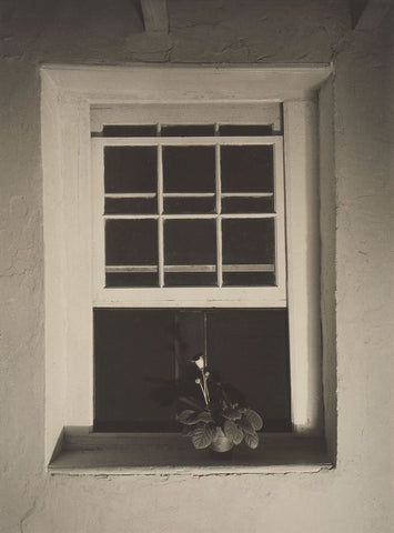 Charles Sheeler - Doylestown House, Open Window, Negative about 1917
