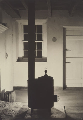 Doylestown House, The Stove, about 1917 -  Charles Sheeler - McGaw Graphics