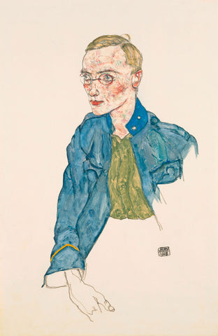 One-Year Volunteer Lance-Corporal, 1916 -  Egon Schiele - McGaw Graphics
