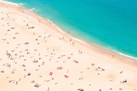 Aerial Beach -  Summer Photography - McGaw Graphics