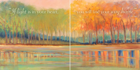 Flowing Streams Revisited (If light is in your heart...) -  Libby Smart - McGaw Graphics