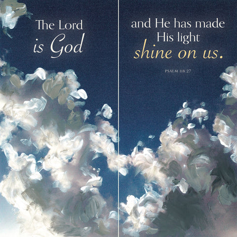 Heaven (The Lord is God...) -  Stacey Wolf - McGaw Graphics