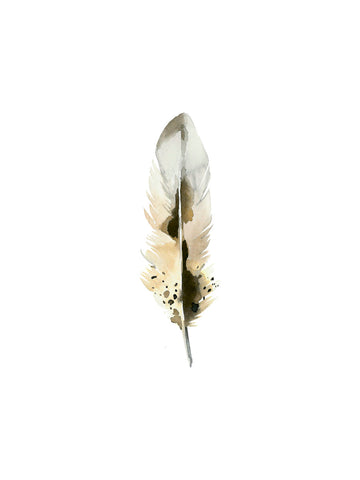 Gold Feather -  Ann Solo - McGaw Graphics